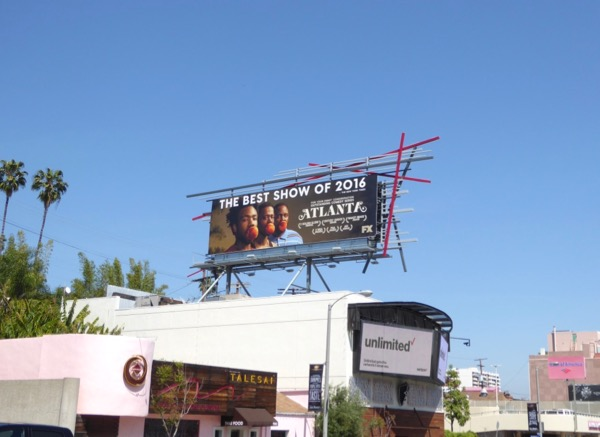 Atlanta season 1 Emmy FYC billboard