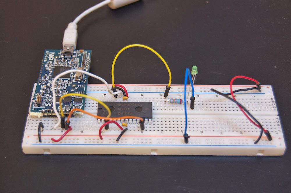 Ken's Electronic Projects: Breadboard ARM DIP