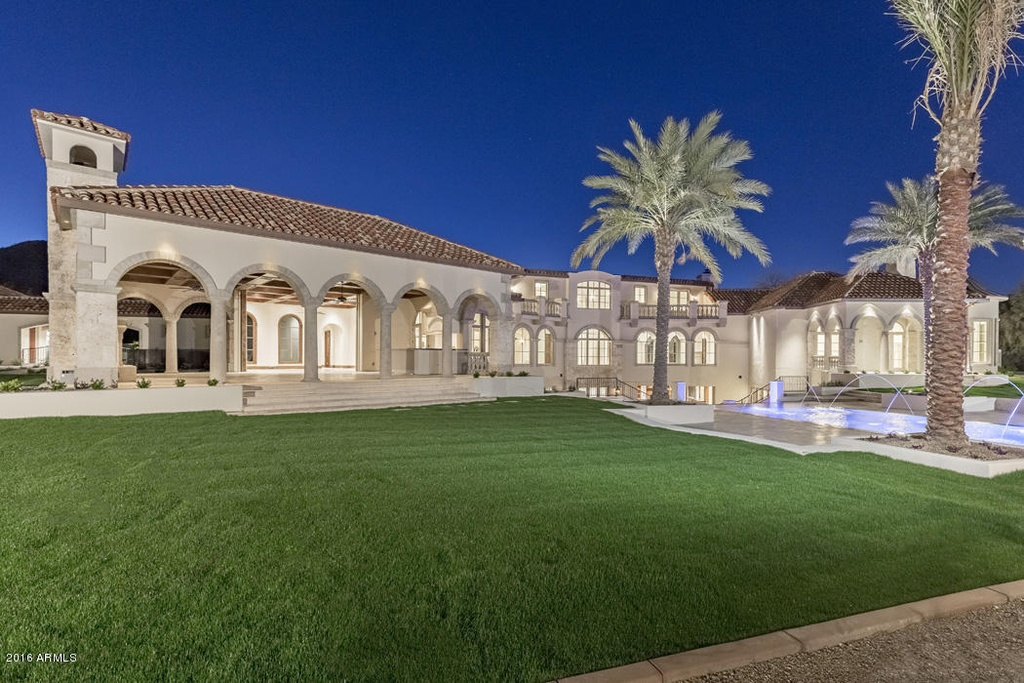 The most exquisite home in paradise valley arizona on for Wilkinson homes