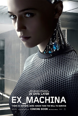 ex machina film recenzja plakat alex garland alicia vikander