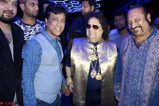 Gracy Singh and Bappi Lahiri   Blue Mountain Music Launch IMG 0643.JPG