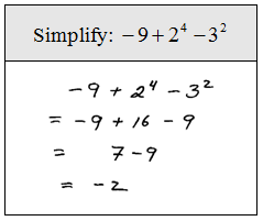 OpenAlgebra.com: Chapter 1 Sample Test Questions