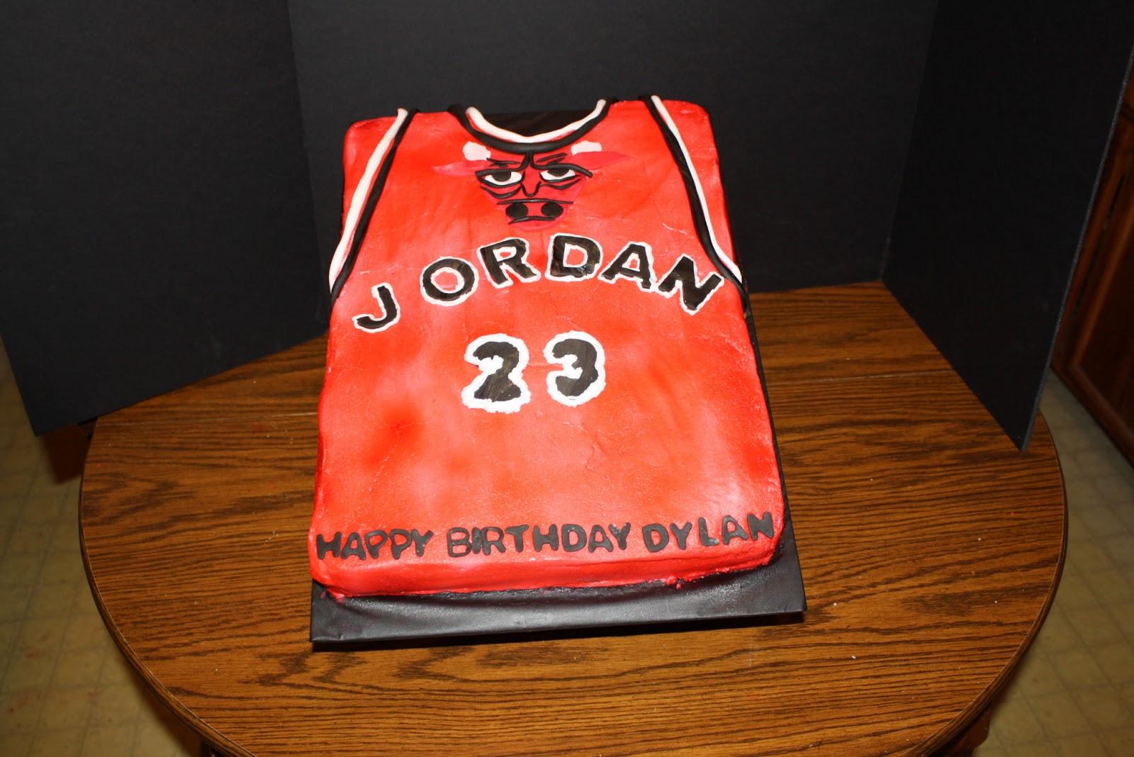 Teresa S Sweet Boutique Michael Jordan Jersey Cake