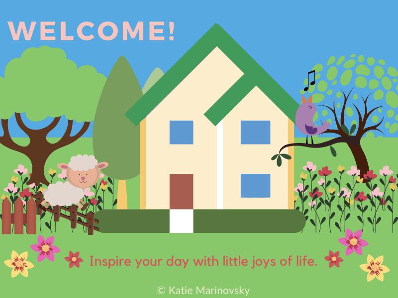 Маленький будиночок у саду