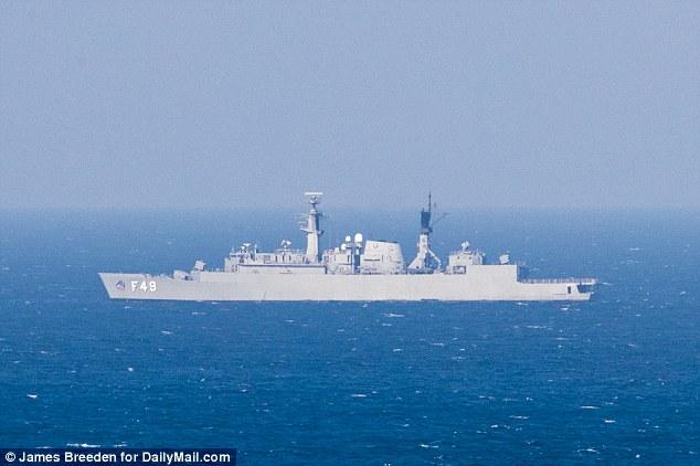 Rio Olympics: US War Ship