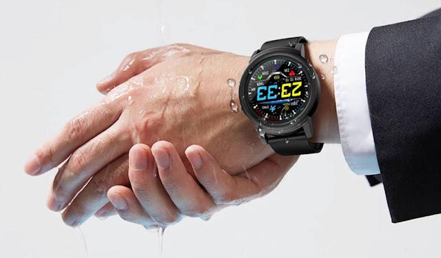 Smartwatch NY01 IP67 Ducha Agua