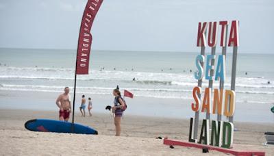 Pawai Obor akan tiba di Pantai Kuta Bali besok
