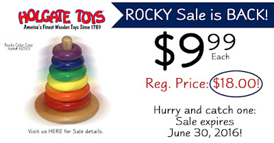 Rocky Color Cone is on Sale for June! Only at HolgateToy.com