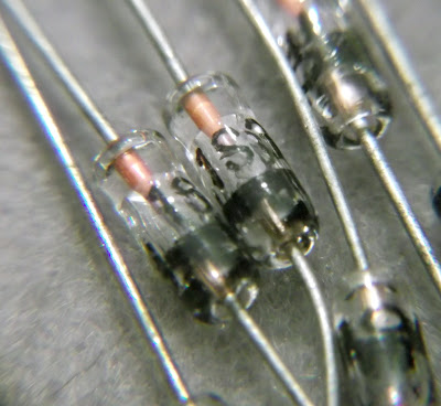 Macro image of a 1S34 Germanium Diode