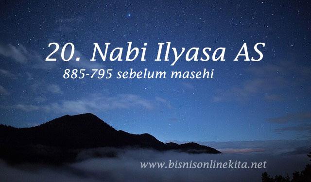 nabi ilyasa as nama nama nabi