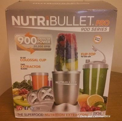 Nutribullet 900 Box
