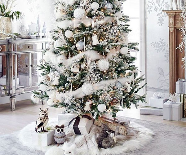 white christmas tree ideas, christmas wishes images