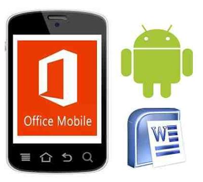 اليكم تطبيق microsoft office mobile app اوفيس للندرويد برابط مباشر