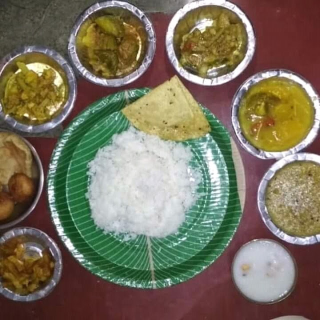 Traditional Village food of Sambalpur
