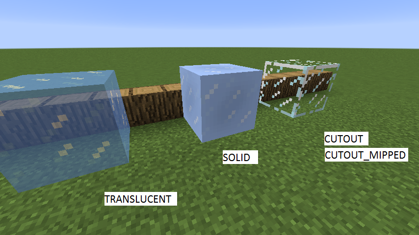 Minecraft Modding: Transparent blocks [1 8]