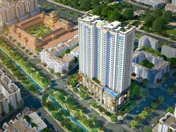 dự án căn hộ cao cấp của Novaland - Lucky Palace