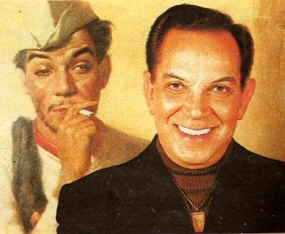 Foto de Cantinflas a color