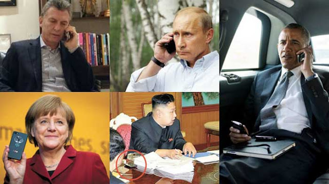 Los teléfonos que usan los principales mandatarios del mundo