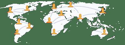 Mạng lưới người sử dụng facebook dày đặc