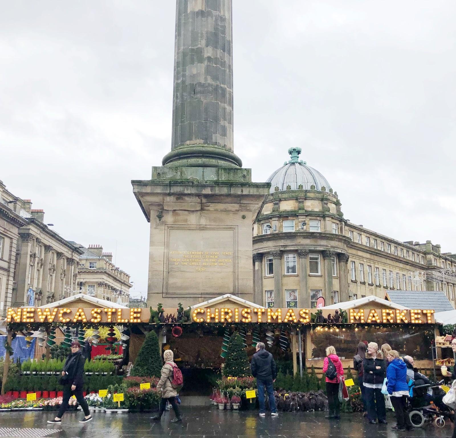 New Girl in Toon November Days - Newcastle Christmas Market