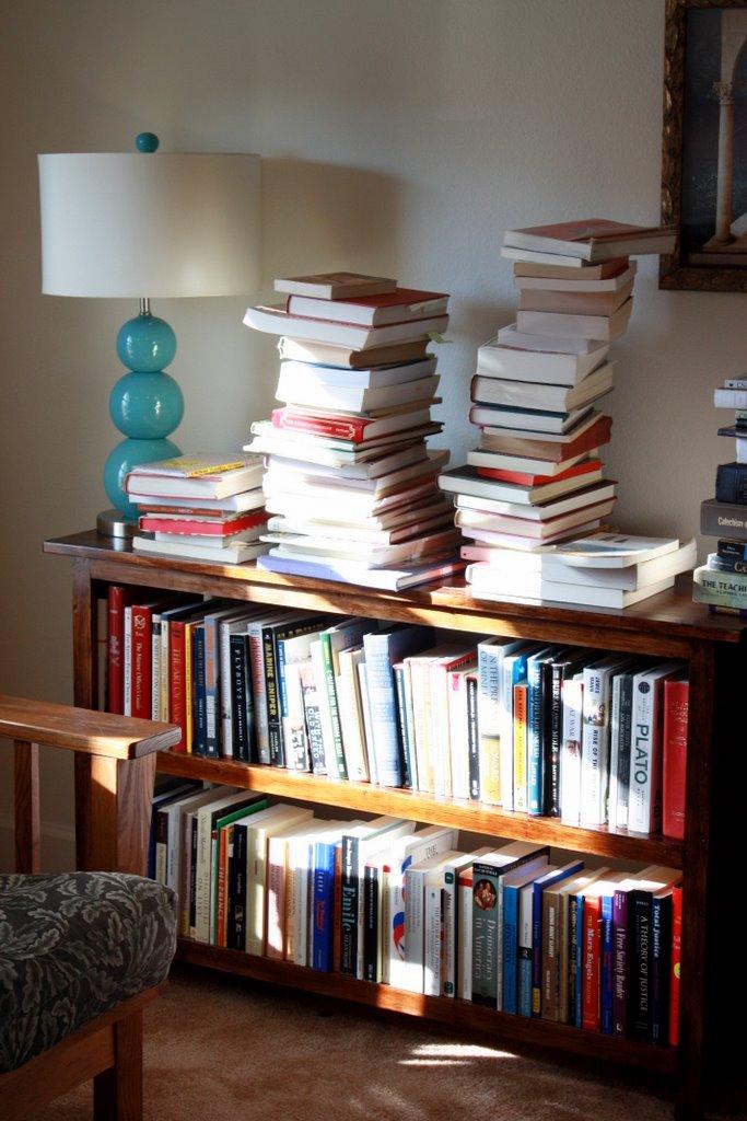 Homemade Bookshelves And An Organized Library Like Mother Like - Homemade bookshelves