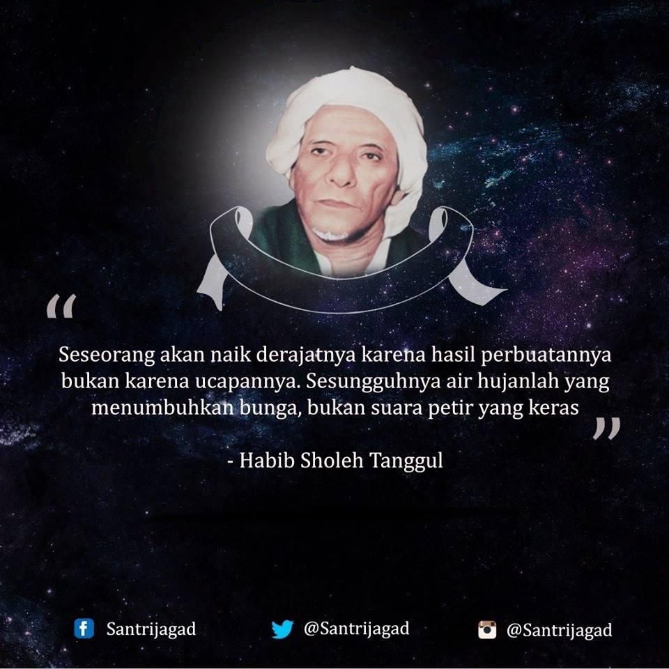 Menyentuh Hati Kata Mutiara Indah Dari Habib Sholeh Tanggul Meme
