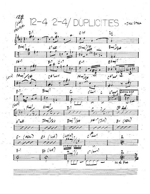Partitura Trompeta Jack Stock