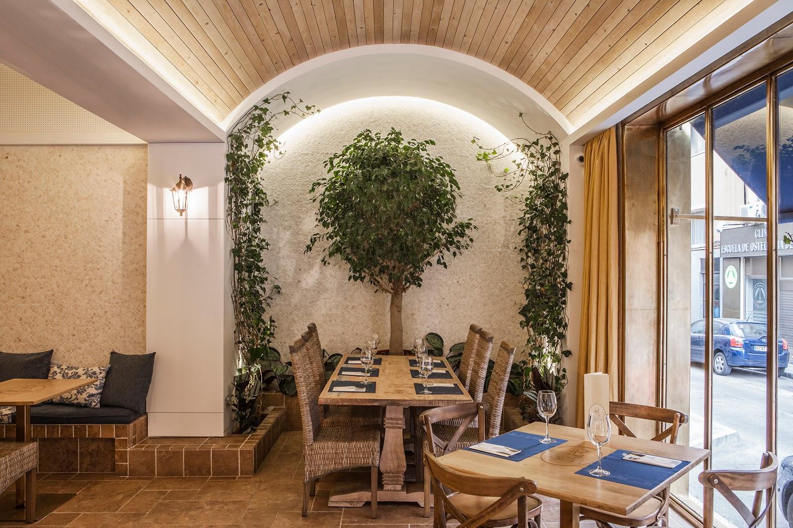 Restaurante l amalfitana barea partners arquitectura y for Los mejores disenos de interiores del mundo