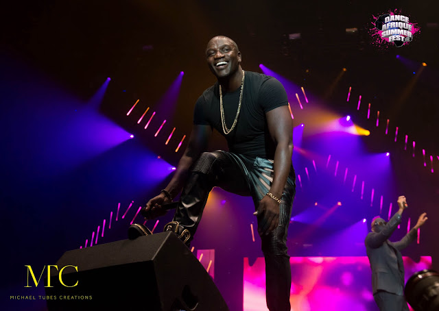Akon at Dance Afrique 2015