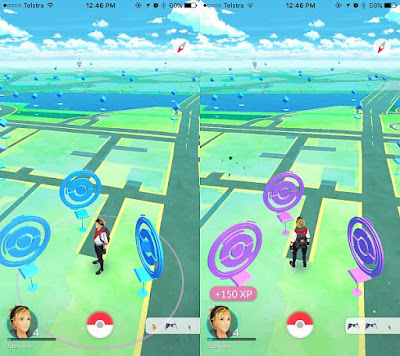 PokeStop dan Battel Gym Pokemon GO