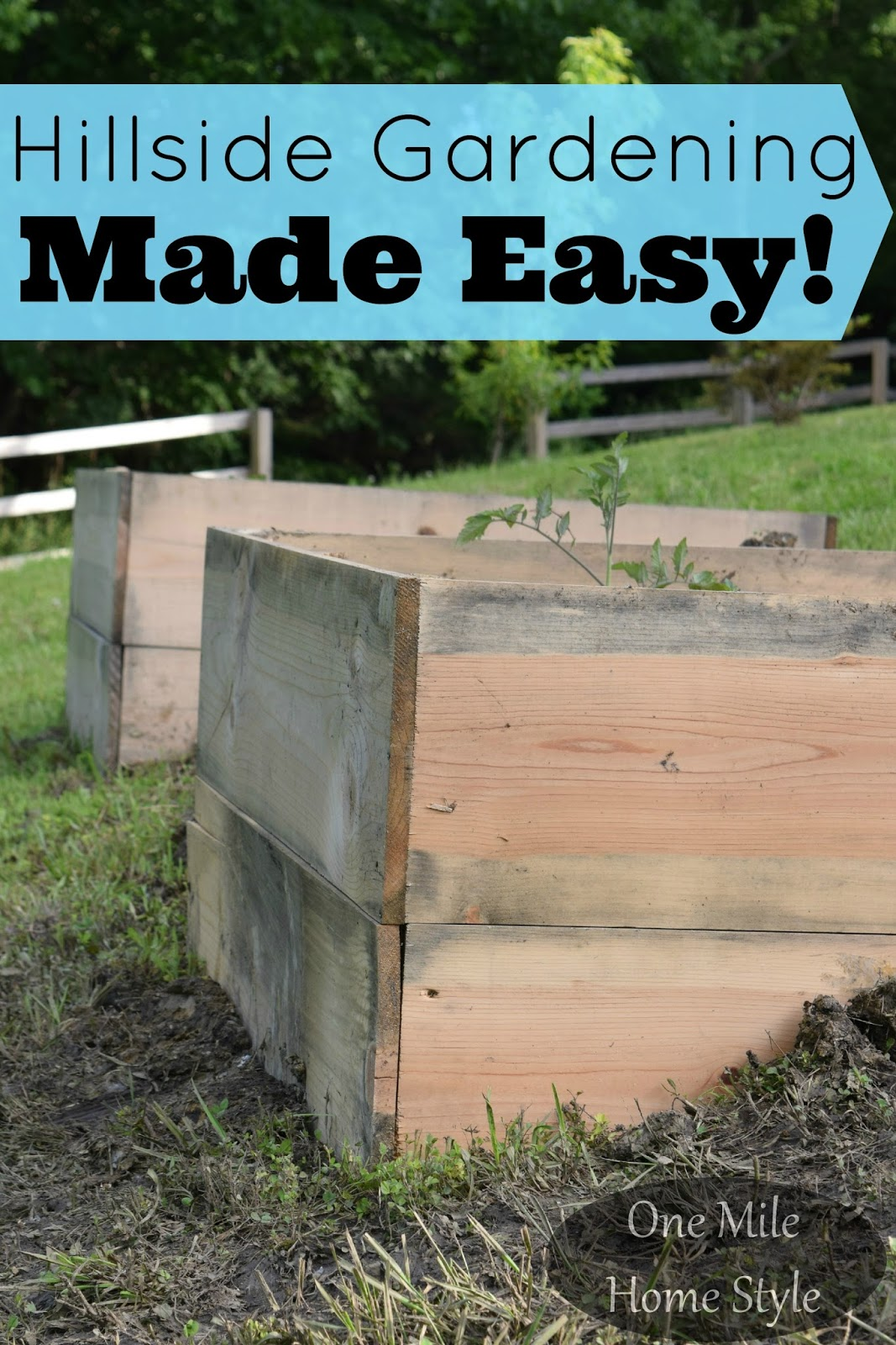 Hillside Gardening Made Easy