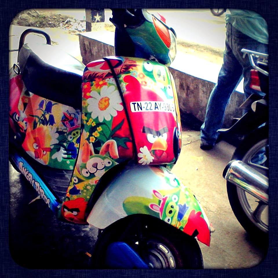 Bike stickers design for dio - Honda Activa Graphics Stickering Designs