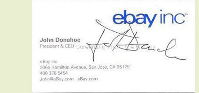 John Donahoe – Ebay