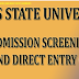 LASU 2017/18 UTME/DE Admission Screening Begins- [Cutoff Mark: 190]