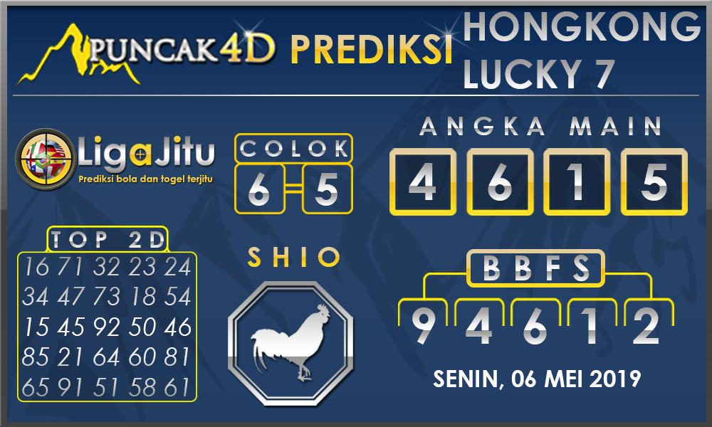 PREDIKSI TOGEL HONGKONG LUCKY7 PUNCAK4D 06 MEI 2019