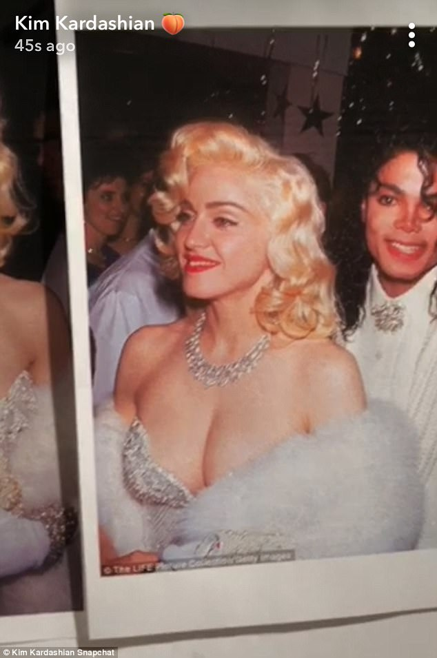 Kardashian sisters replicated Michael and Madonna's famous date at the 1991 Academy Awards