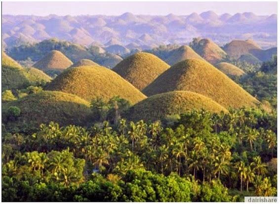 Fenomena Kejadian Alam Yang Menakjubkan Ribuan Bukit