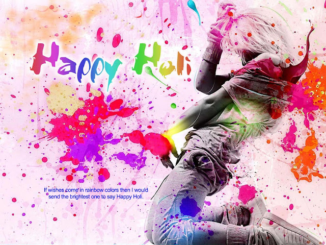 Happy Holi Greeting Messages in Hindi