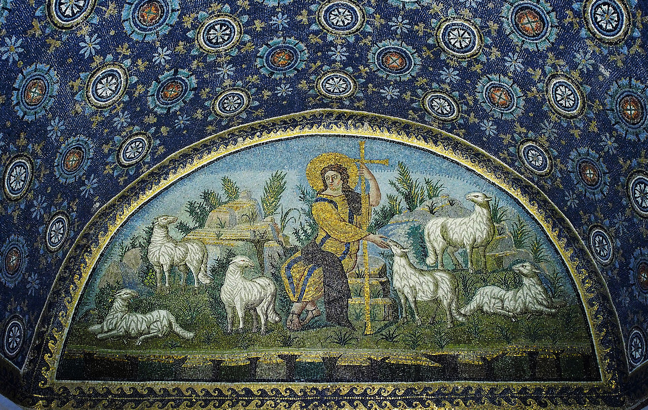 Good Shepherd Wall Painting East Anglia
