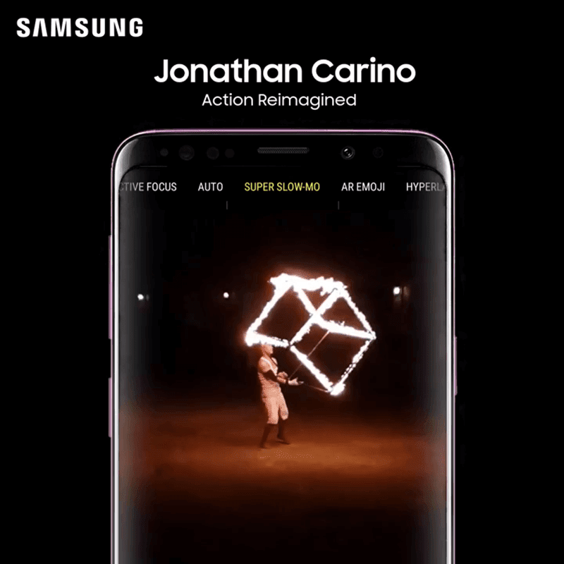 Jonathan Carino is the winner of Samsung's SOTD challenge