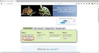 Tips mudah Convert video menjadi file .GIF tanpa menggunakan Software
