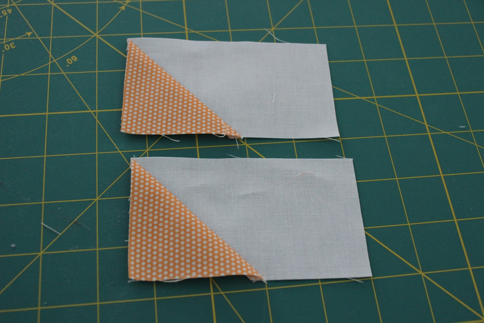 No-Waste Long Half Triangle Tutorial