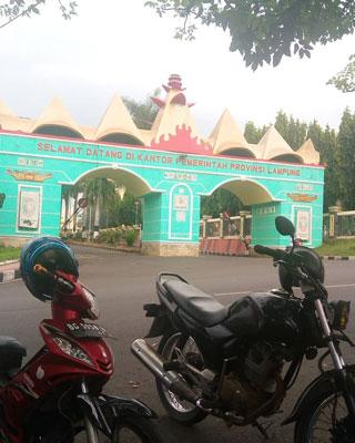 Alamat Kantor Gubernur Lampung