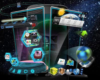 لانشر CM Launcher 3D
