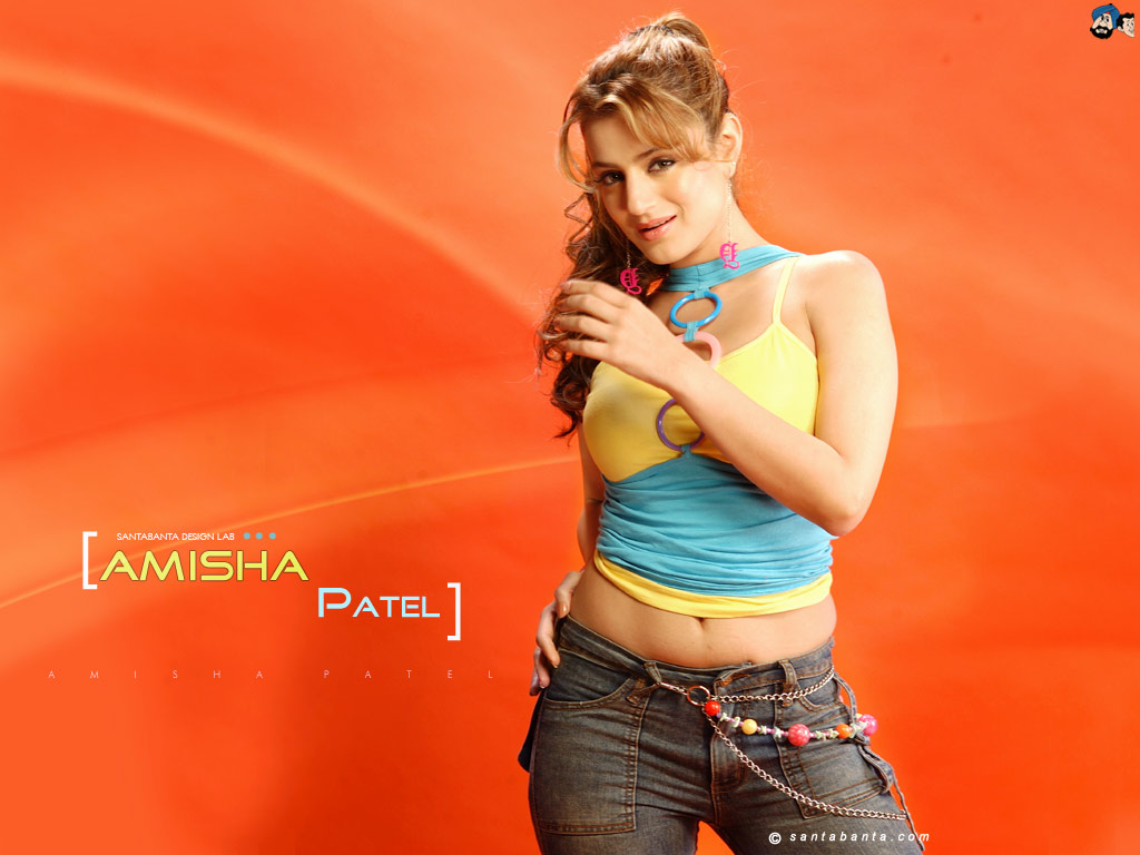 Ameesha Papael Ka Saxy Nangi Photo: Katrina Is My Life: Amisha Patel Too Sexy Girl