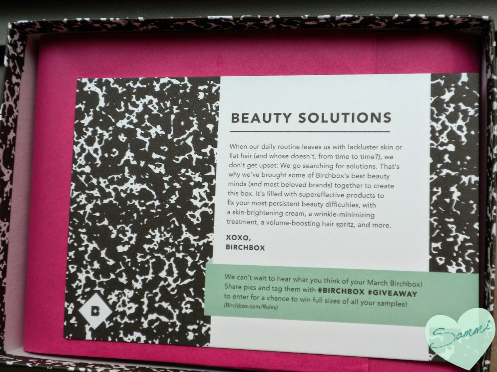 Birchbox: March 2015 Review