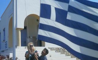 Βραβεύτηκε απο την Ακαδημία Αθηνών η δασκάλα στους Αρκιούς Μαρία-Φαίδρα Τσιαλέρα, με τον ένα μαθητή
