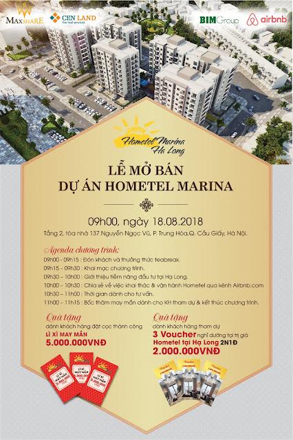 Sự kiện mở bán Hometel Marina