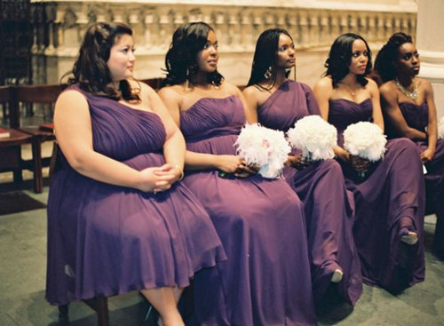Cute bridesmaid dresses for plus size girls?