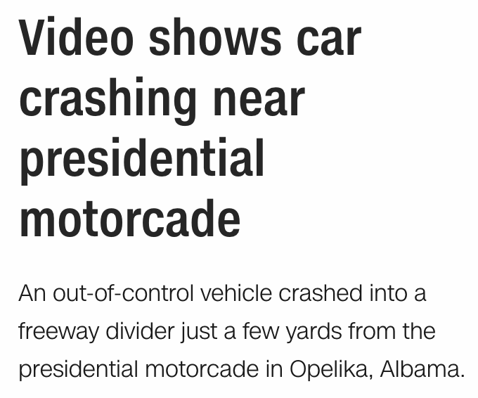 free to find truth: 33 39 45   Video shows car crash near